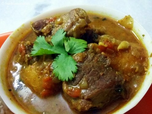 Self-styled Mutton Curry