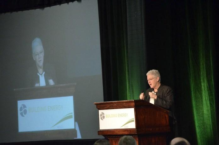 Gina McCarthy at podium