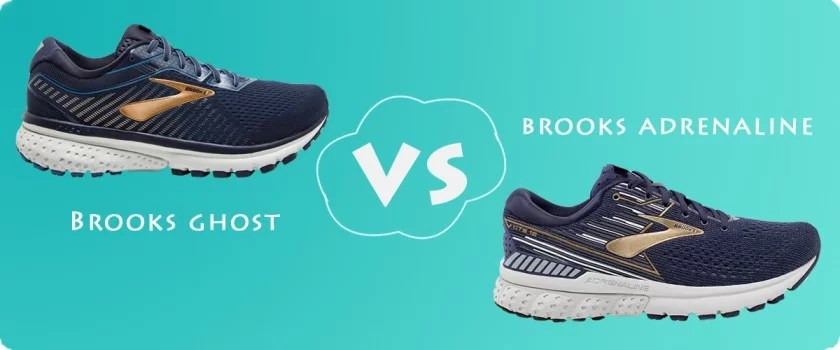 Brooks ghost vs adrenaline which one is