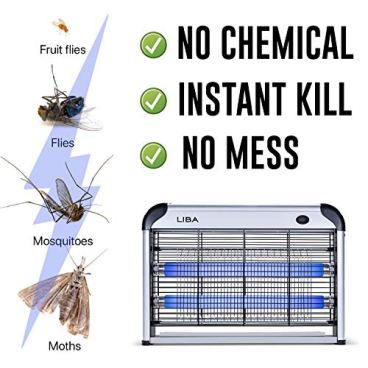 LiBa Bug Zapper Electric Indoor Insect Killer