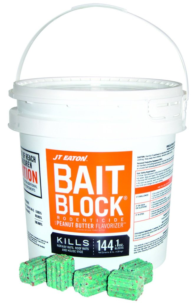 JT Eaton 709-PN Bait Block for Mice and Rats