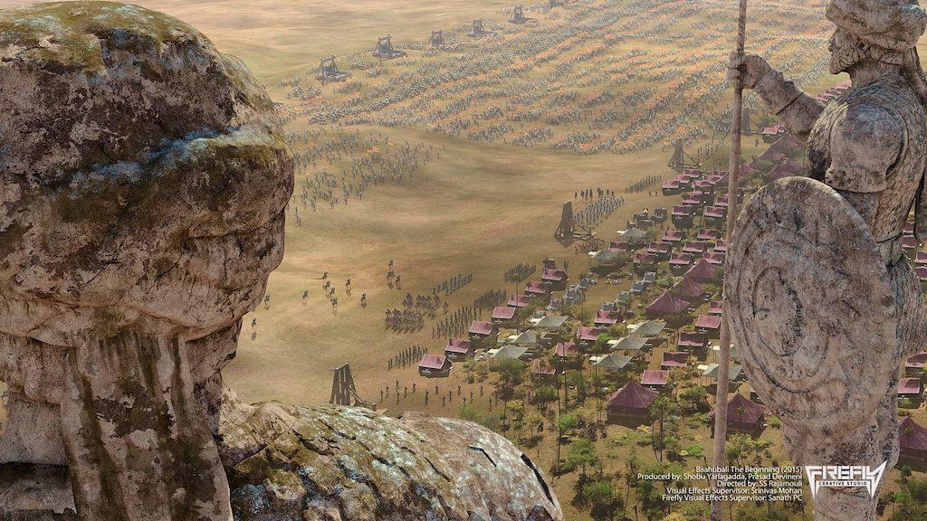 Still from Baahubali: The Beginning