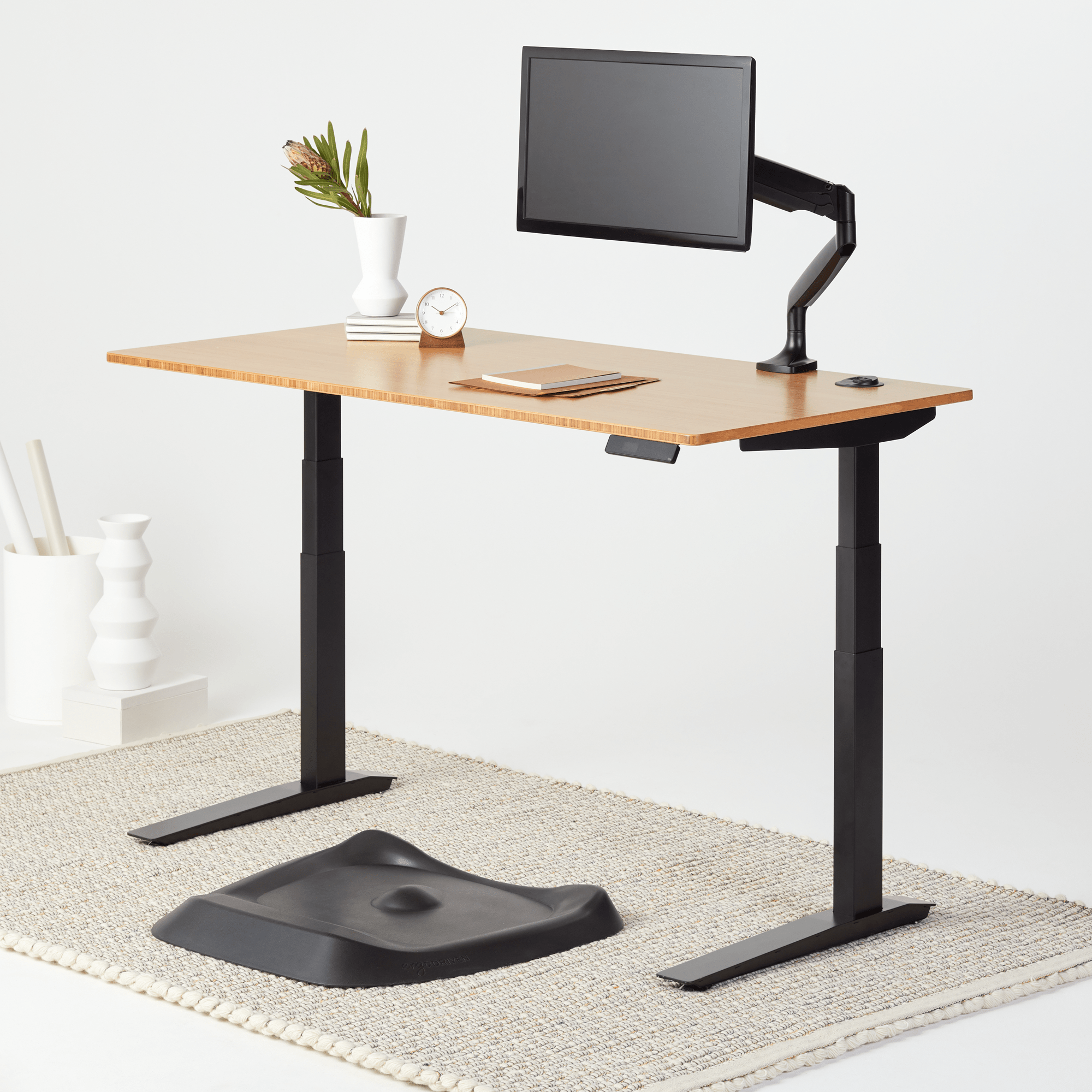 Fully Jarvis Bamboo Standing Desk The Review Smiths