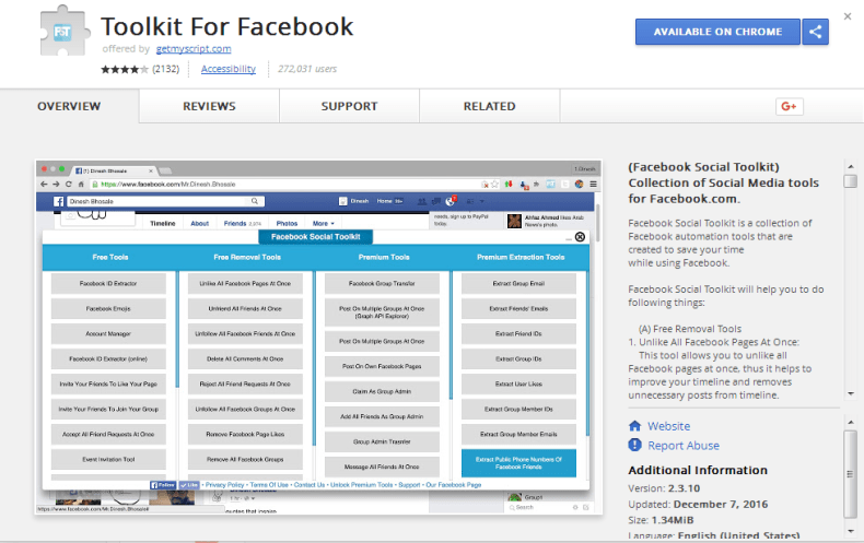 Facebook Toolkit