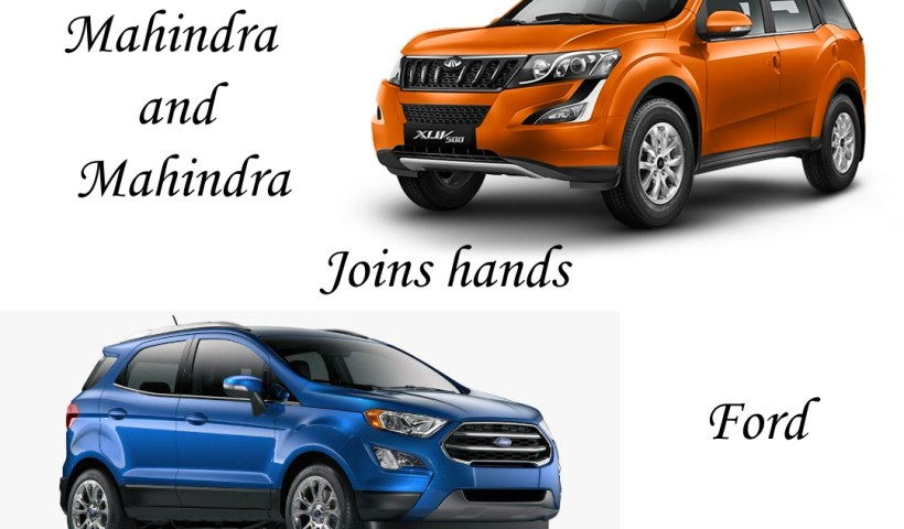 Mahindra and Ford join hands in india