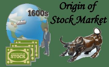 origin of stock market