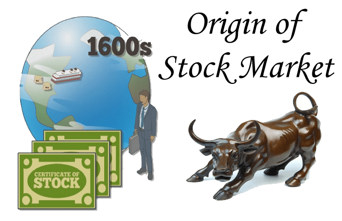 origin of stock market