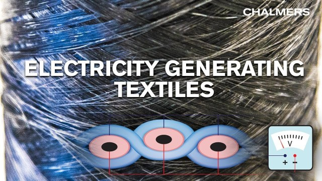 Electricity-generating fabric