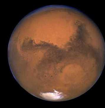 liquid water of mars
