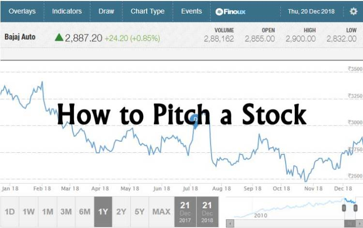 How to Pitch a Stock