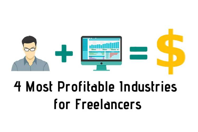 4 Most Profitable Industries for Freelancers in 2019
