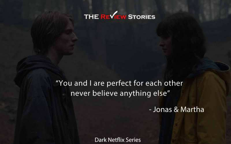 you and I are perfect for each other never believe anything else