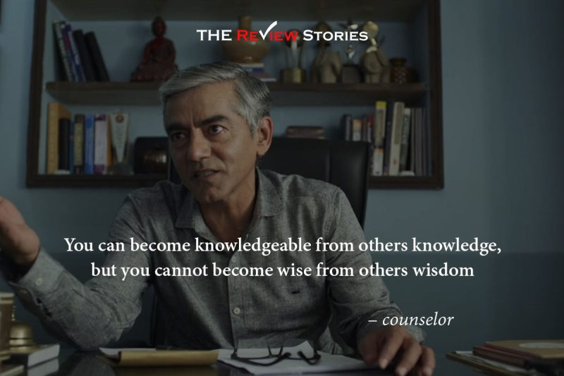 You can become knowledgeable from others knowledge but you cannot become wise from others wisdom