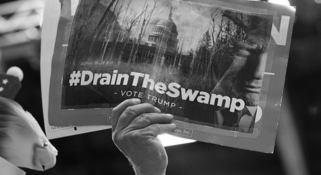 """Drain the Swamp"" Promise Drives Establishment Panic"