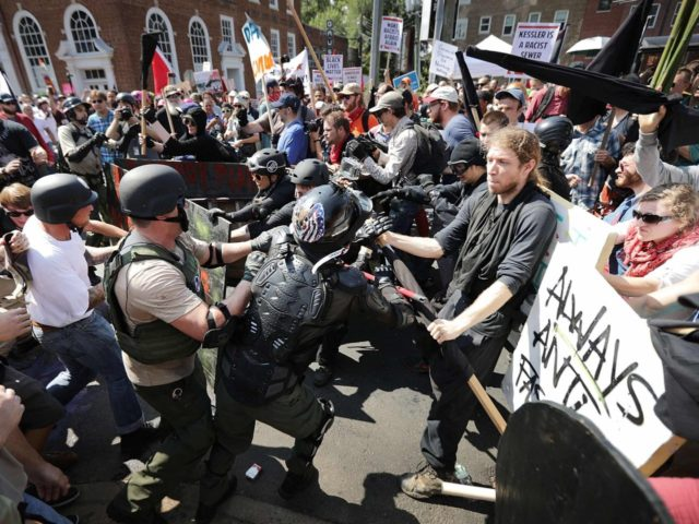 The role of government in Charlottesville was to protect freedom of assembly and speech.