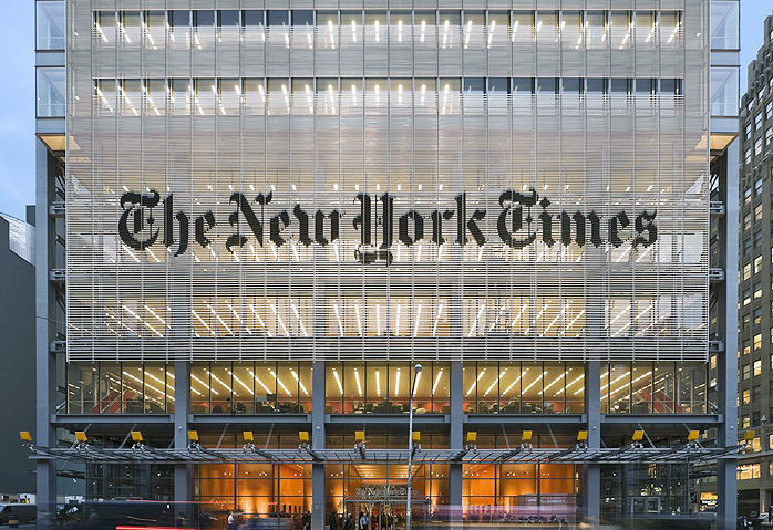 The New York Times and the rise of partisan journalism