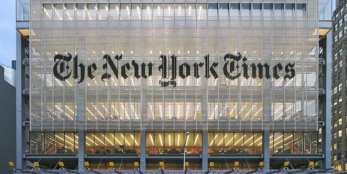 The Crashing Fall of Journalism at the New York Times