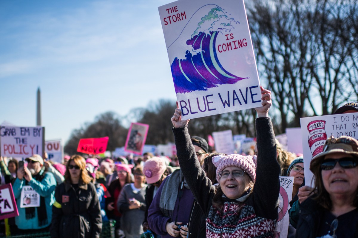 Here's Why The Midterm Blue Wave May Not Happen