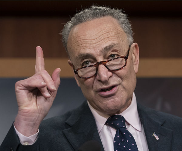 The Racism Of Chuck Schumer And Democrats On Full Display