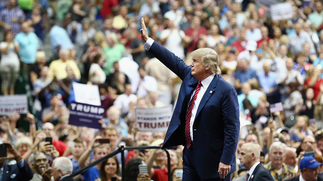 The President's Path To A wall, Electoral Victory Or Both