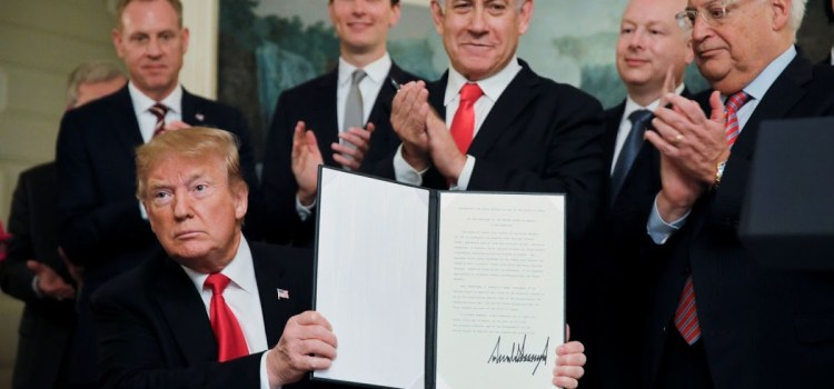 Trump Puts U.S. On The Moral High Ground In The Golan Heights