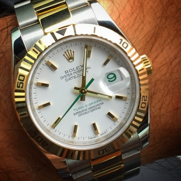 Rolex Turn-o-graph Limited Edition Green