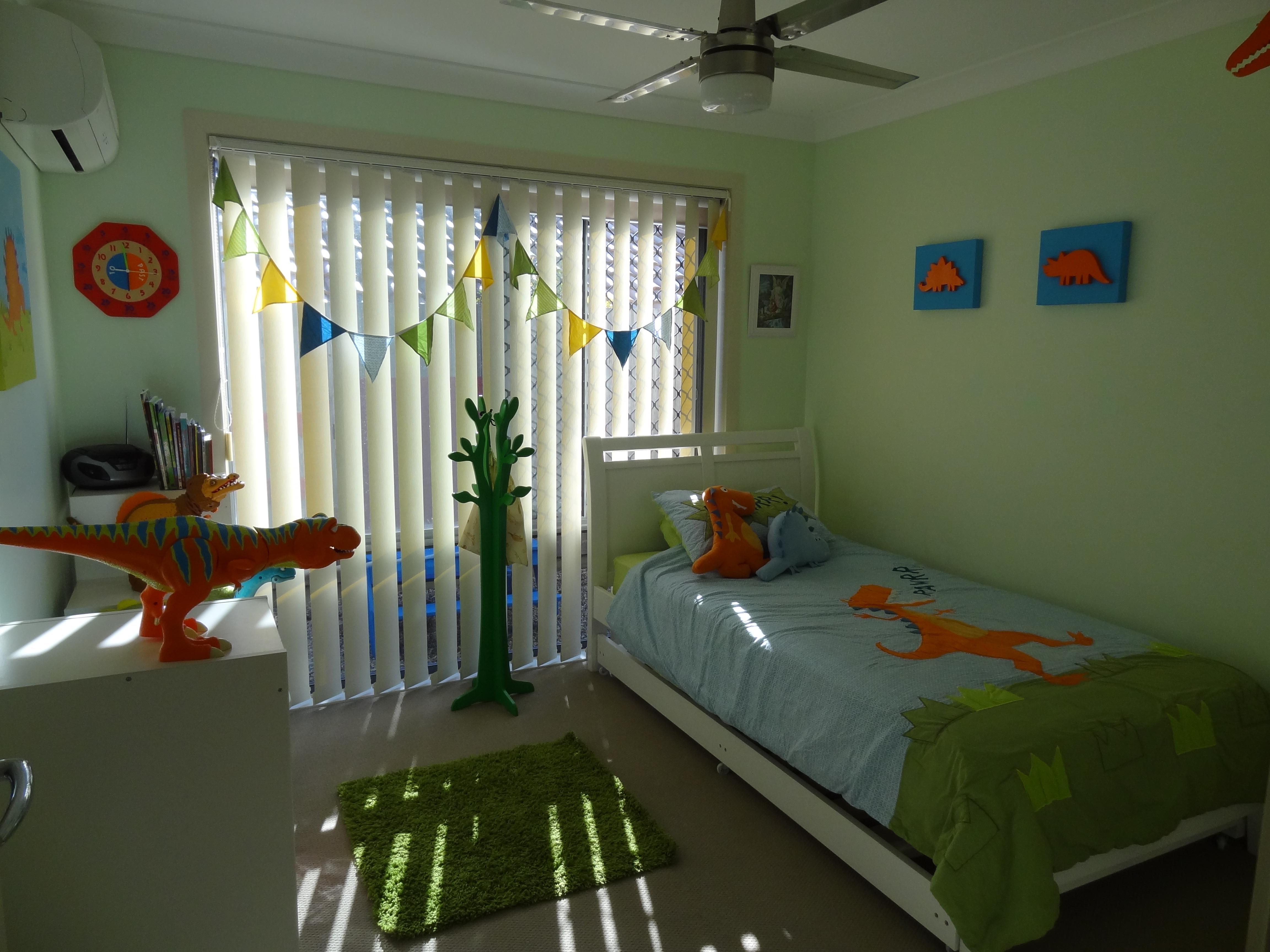 A Bedroom For A Dinosaur Loving Boy