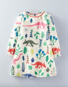 Family: An Ode To Boden's Dinosaur Dress For Girls
