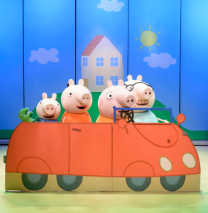 Family: Peppa Pig Live Review, And How Not To Lose Your Kid In The Foyer