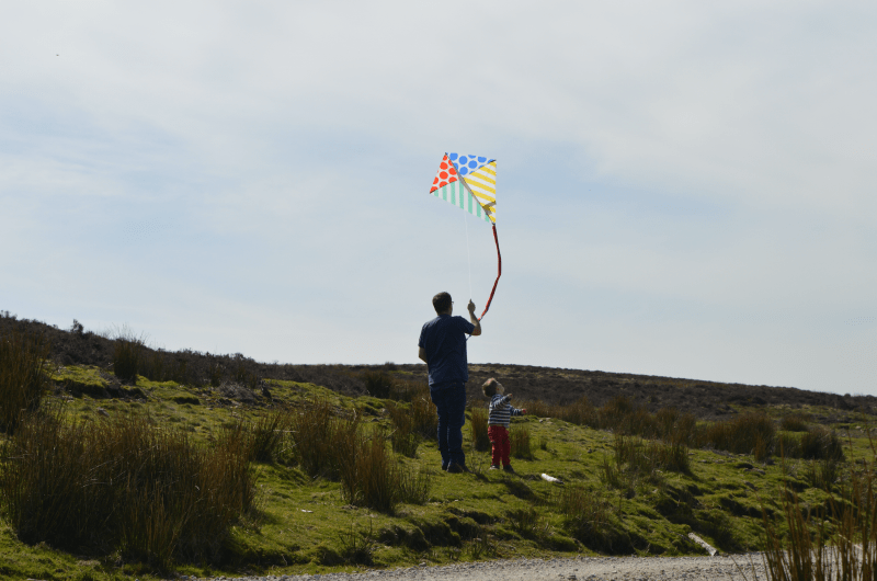 Fly a kite on the Yorkshire Dales