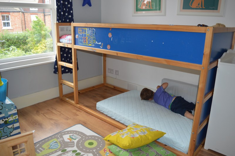 IKEA Kura reversible bed for children