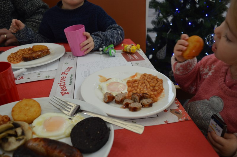 Breakfast with Santa at Wyevale Garden Centre