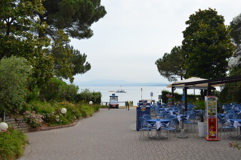 Lake Garda at Bella Italia campsite