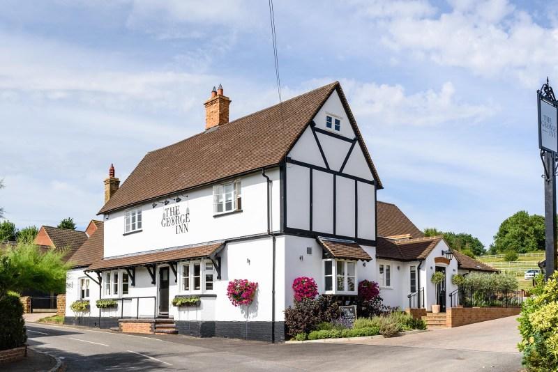 The George Inn pub Maulden