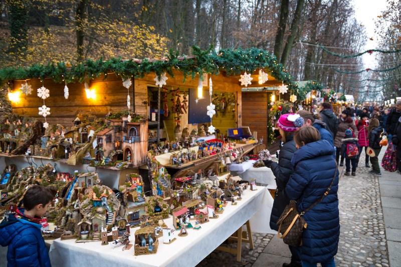Govone Christmas street market toys
