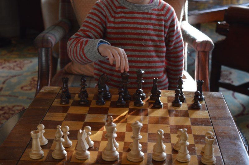 Chess at Stapleford Park Hotel