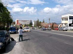 Hitchhiking out of Cluj-Napoca, Romania
