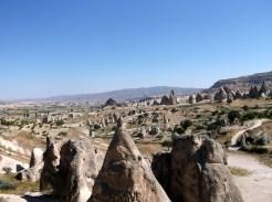 Bizarre stone formations, Kapadokya