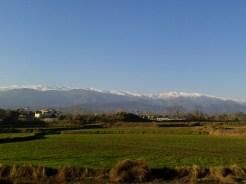 View on the Alborz mountain range, Amol