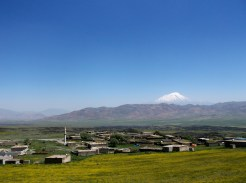 Mt. Ararat popping out