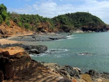 Paradise beach, Gokarna, Karnataka (picture by CAT)