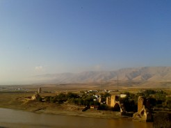 Hasankeyf, view from surrounding hill