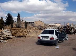 Quest for wood, Kerman ringroad