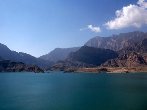 Wadi Dayqah water reservoir