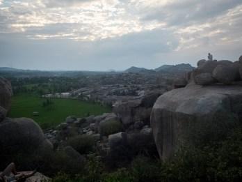 Boulders, boulders, boulders @ Hampi (picture by PB)