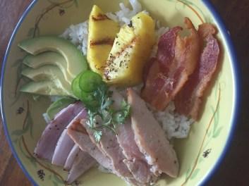 My Hawaiian Pork Bowl