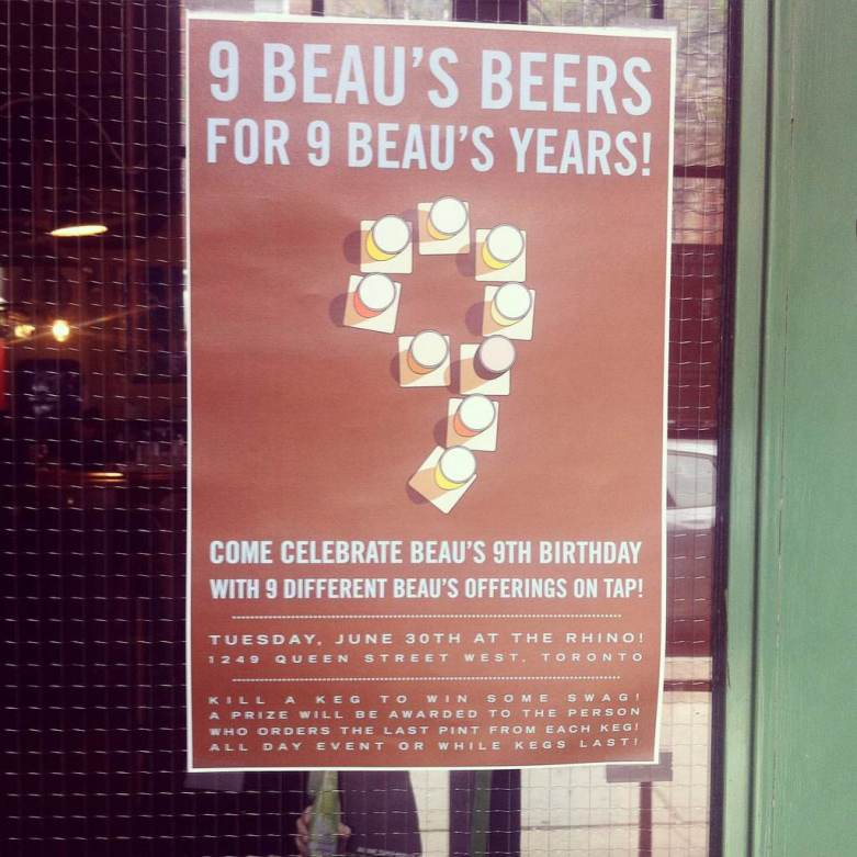 Beau's 9 Years Anniversary Party at The Rhino / June 2015