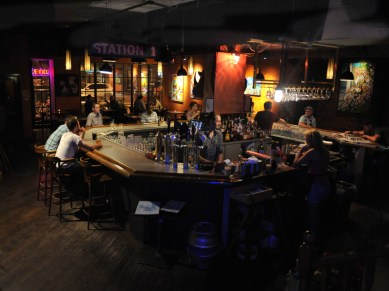 *Main Bar – West Side