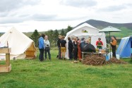Rhynie Woman Pictish Pizza Pop up Cafe