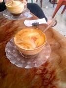 Egg Coffee in Hanoi, basically tiramisu in a glass